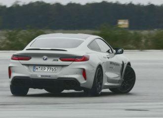 Σεμινάριο drift με BMW M8 Competition (+video)