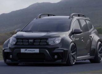 Κτήνος Dacia Duster έτοιμο να φάει τον δρόμο (+video)