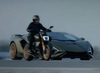 Τι κάνει η δίτροχη Lamborghini κόντρα στην κανονική;