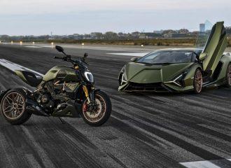 Δίτροχος ταύρος η Ducati Diavel Lamborghini (+video)