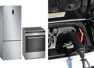 Ηλεκτρικό αυτοκίνητο vs ψυγείο και κουζίνα