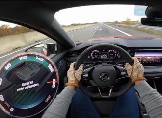 Νέα Skoda Octavia RS με το γκάζι στο πάτωμα (+video)