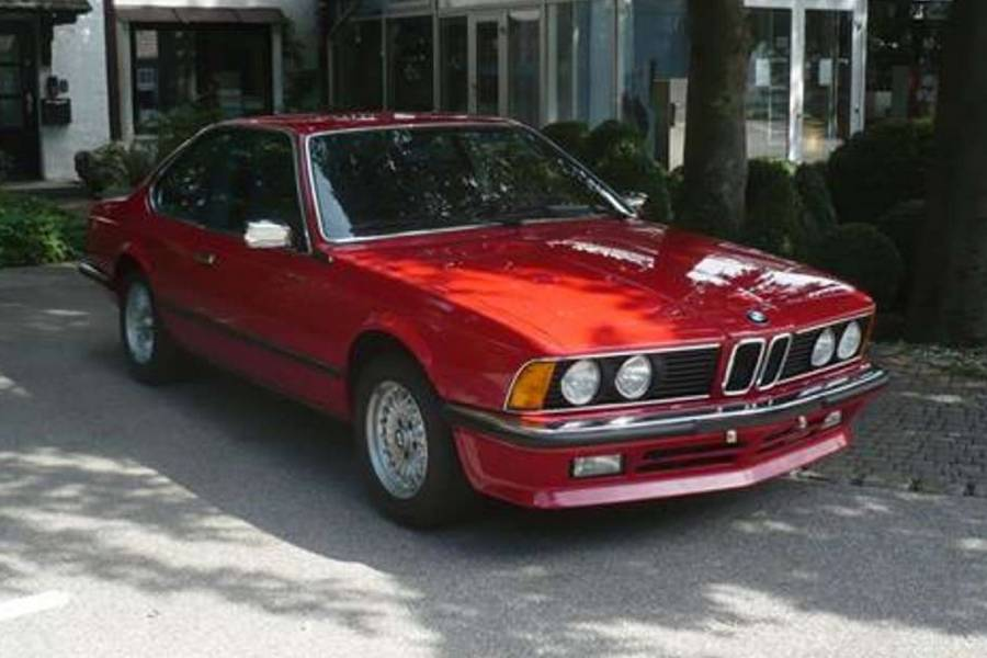 Καινούργια BMW 635 CSi ήταν στη ναφθαλίνη 35 χρόνια