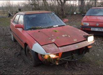 Mazda 323F πήρε μπρος μετά από 17 χρόνια (+video)