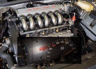 Μερακλίδικη Alfa Romeo 164 με καρδιά GTA (+video)