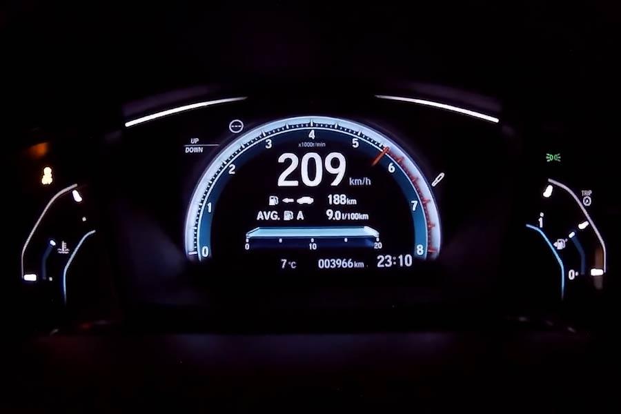 0-209 χλμ / ώρα με 1.000 ίππους Honda Civic (+ βίντεο)