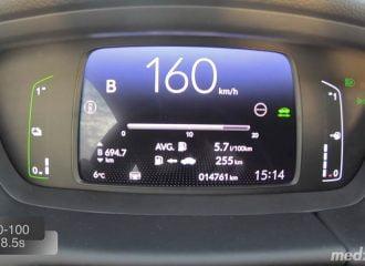 0-160 χλμ./ώρα με το νέο υβριδικό Honda Jazz
