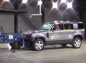 To Defender διέλυσε τις μπάρες του Euro NCAP