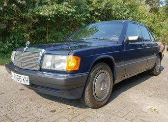 Αριστοκράτισσα Mercedes 190 του ΄89 με 8.072 χλμ.