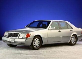 Οι κρυφές τεχνολογίες της Mercedes S-Class του 1991