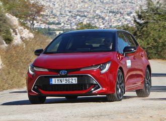 Δοκιμή Toyota Corolla 2.0 λτ. Hybrid 180 PS