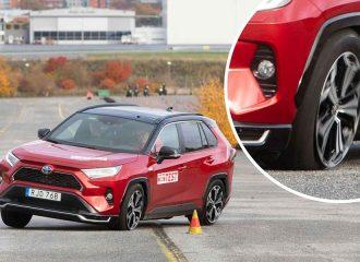 Σκοτώστρα το Toyota RAV4 PHEV στον «τάρανδο»