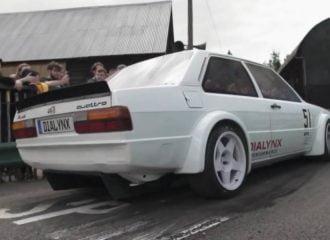 Audi 80 κάνει το 0-100 κάτω από 2 δλ.! (+video)