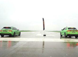 Ξεκαθάρισμα μεταξύ Audi RS 6 και RS Q8 (+video)