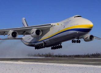 Ποια μάρκα νοίκιασε Antonov για μεταφορά σασί;