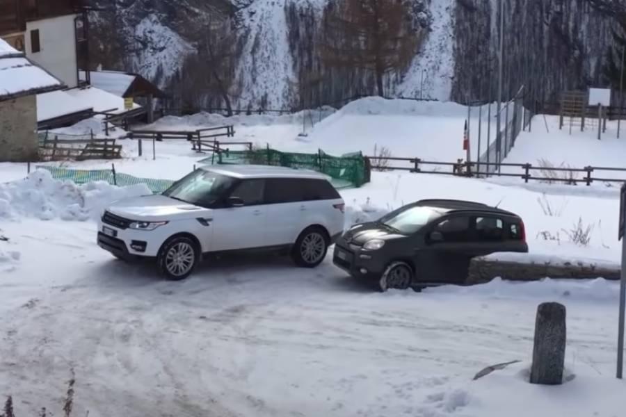 Fiat Panda 4×4 ρεζιλεύει Range Rover (+video)