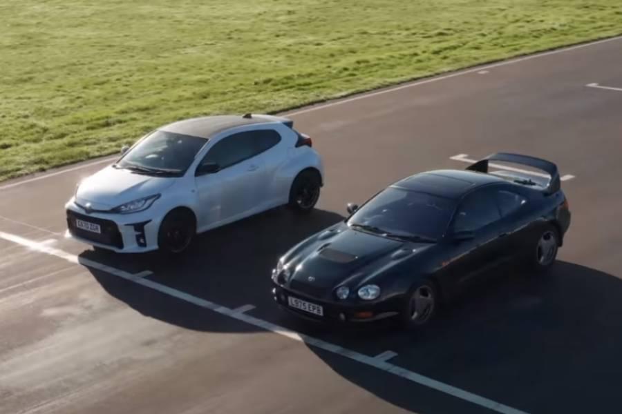 Πώς είναι το GR Yaris εναντίον του Celica GT-Four;