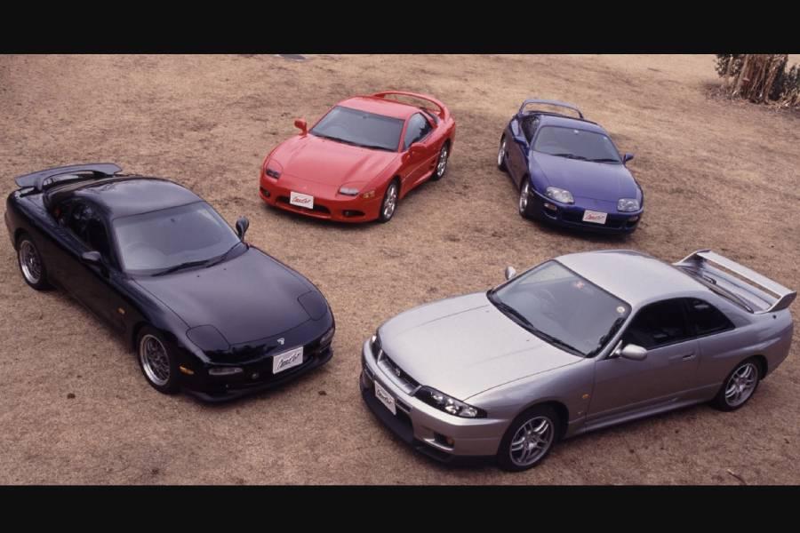 Σας έχουν λείψει οι JDM αμαξάρες του '90;