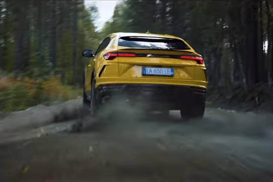 Η Lamborghini Urus πάει τέζα παντού (+video)