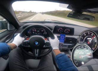 300άρες με BMW M5 1.000 ίππων (+video)