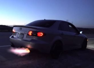 Πυροβολαρχία Mazda 6 MPS 950 ίππων! (+video)