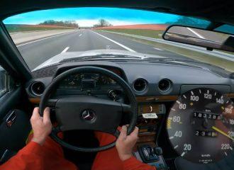 Τελικές με Mercedes 280 CE W123 του '84 (+video)