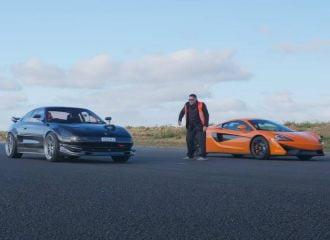 Toyota MR2 600 ίππων κοντράρει McLaren! (+video)