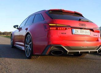 Πύραυλος Audi RS 6 1.001HP και 1.250 Nm (+video)