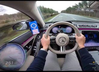 «Αφρός» η νέα Mercedes S-Class στην τελική της