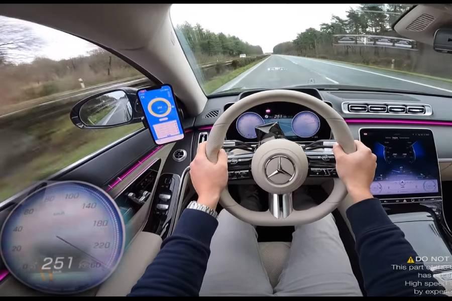 """Foam"" η νέα Mercedes S-Class στον τελικό της"