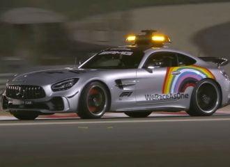 To Safety Car της F1 γλεντάει με το πλάι! (+video)