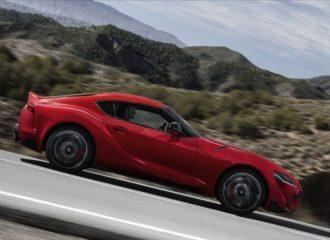Άκλαφτη έχει πάει στην Ευρώπη η Toyota Supra