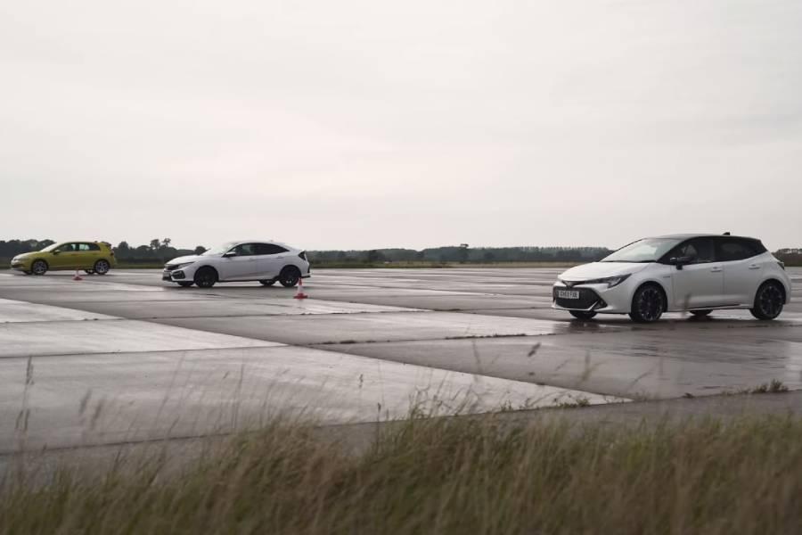 Επίπεδα γκολφ Civic και Corolla (+ βίντεο)