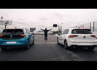 Το VW ID.3 «ιδρώνει» το Golf GTI (+video)