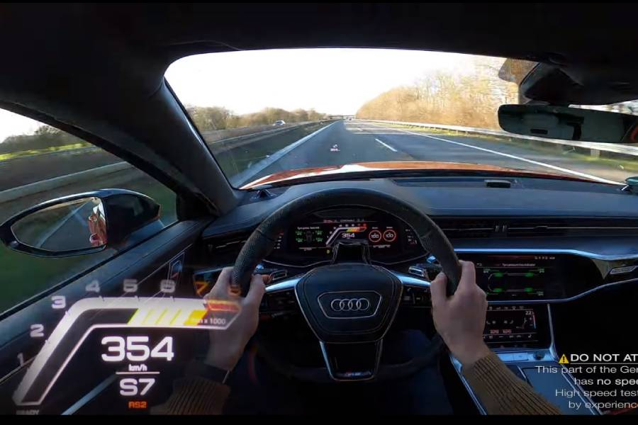 Audi RS 6 1.000 ίππων με το γκάζι «φυτεμένο» (+video)