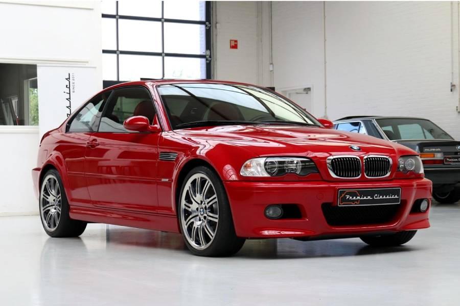 Η πιο φλογερή BMW M3 E46 με 9.900 χλμ.