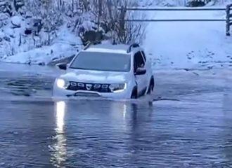 Θα περάσει το ποτάμι η θα κολλήσει; (+video)