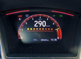 Η απίστευτη επιτάχυνση του Civic Type R Limited
