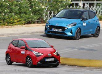 Συγκριτικό: Hyundai i10 1.0 vs Toyota Aygo 1.0