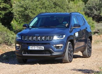 Δοκιμή Jeep Compass 4xe Limited 1.3 TB 190 hp