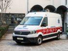 Δωρεά ασθενοφόρου VW Crafter από την Kosmocar στο Ε.Κ.Α.Β.
