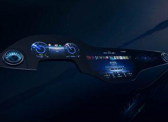 Η νέα MBUX υπεροθόνη της Mercedes EQS