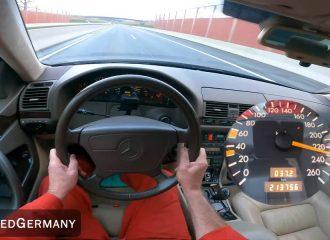 Ακλόνητη Mercedes CL 500 του 1997 (+video)