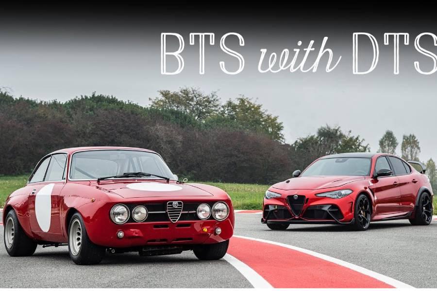 Ταξίδι στα όνειρα με τις Alfa Giulia GTAm (+video)