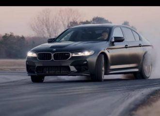 «Σήματα καπνού» με την BMW M5 CS (+video)