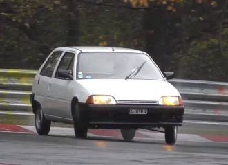 Citroen AX με «όσα» στο Nurburgring (+video)