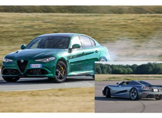 Ταχύτερη από Koenigsegg η Alfa Romeo Giulia QV!
