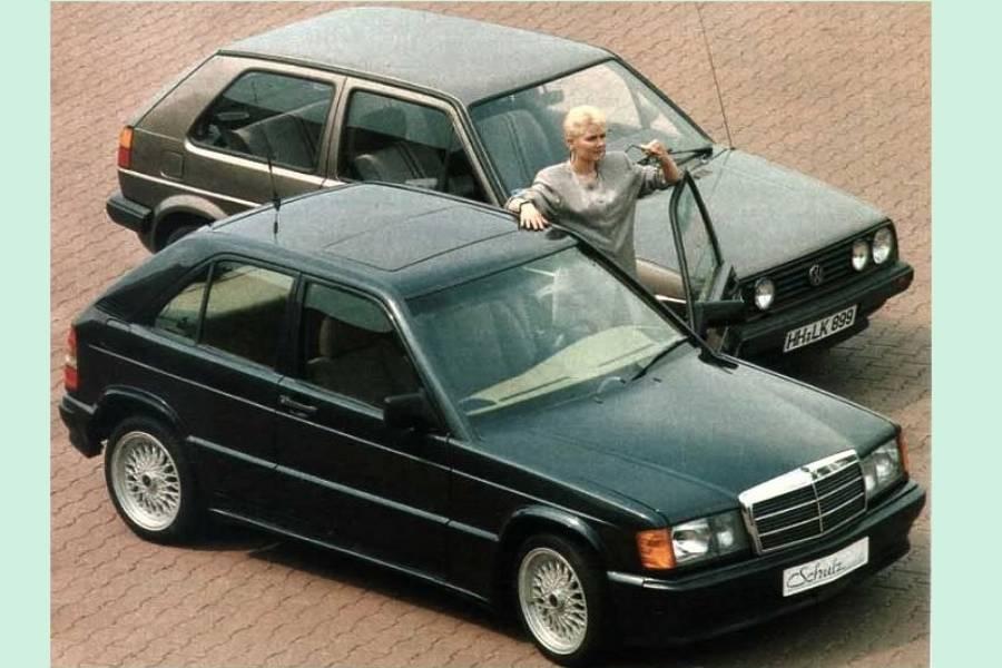 Η χάτσμπακ Mercedes 190Ε που δεν είδαμε ποτέ