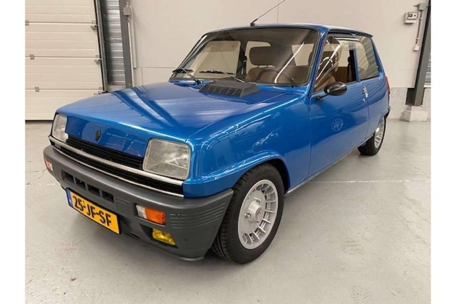 Άθικτο Renault 5 Turbo του 1983 με 17 χιλιόμετρα!