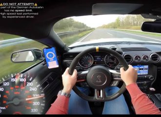 V8 ηδονή με Shelby GT350 στην autobahn (+video)